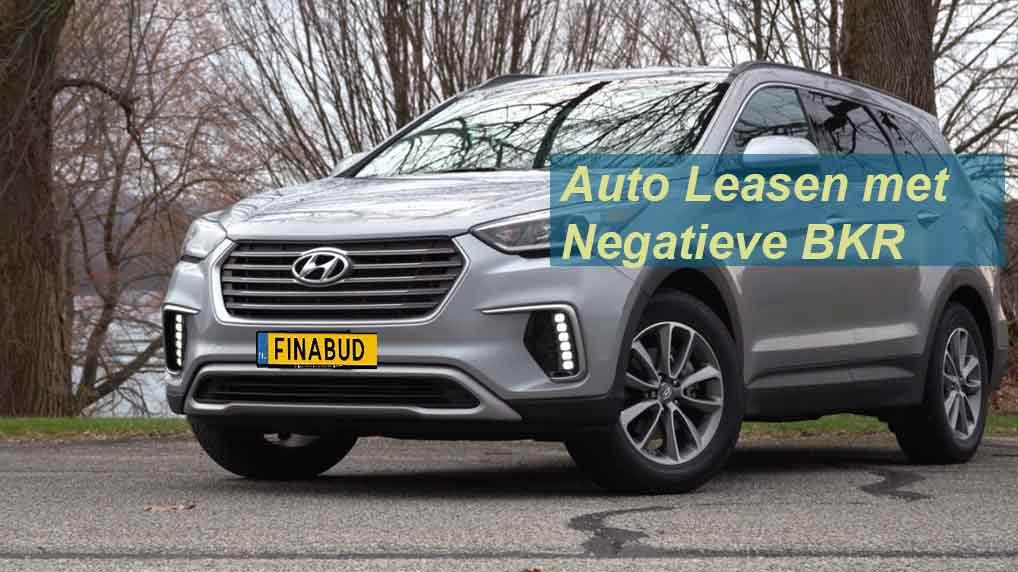 Auto leasen met negatieve bkr registratie particulier